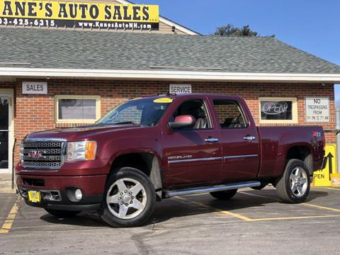 2013 GMC Sierra 2500HD for sale in Manchester, NH