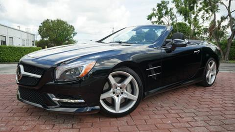 2015 Mercedes-Benz SL-Class for sale in Pompano Beach, FL