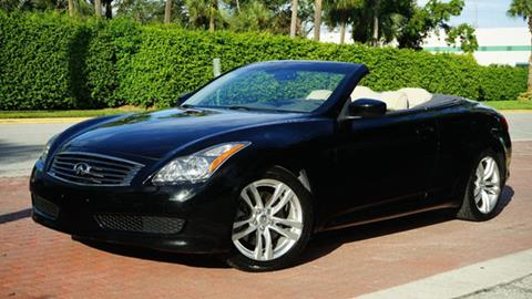 2009 Infiniti G37 Convertible for sale in Pompano Beach, FL