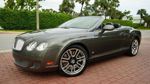 2011 Bentley Continental for sale in Pompano Beach, FL