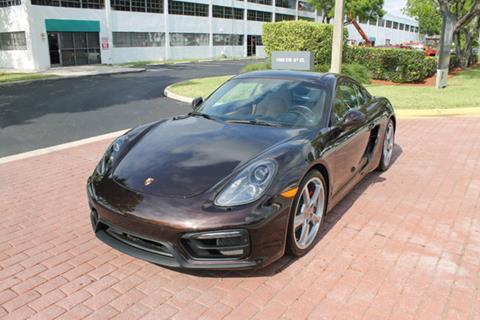 2016 Porsche Cayman for sale in Pompano Beach, FL