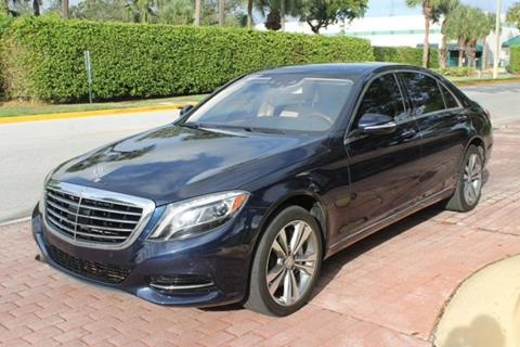 2016 Mercedes Benz S Class For Sale In Pompano Beach, FL