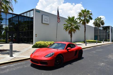 2017 Porsche 718 Cayman for sale in Pompano Beach, FL