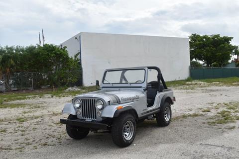 1979 Jeep CJ-5 for sale in Pompano Beach, FL
