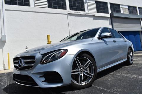 2018 Mercedes-Benz E-Class for sale in Pompano Beach, FL