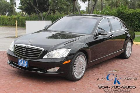 Mercedes benz s class for sale in pompano beach fl for Mercedes benz of pompano service