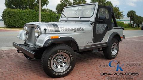 1979 Jeep CJ-5 for sale in Lighthouse Point, FL