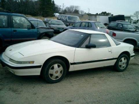 1990 Buick Reatta for sale at D & T AUTO INC in Columbus MN