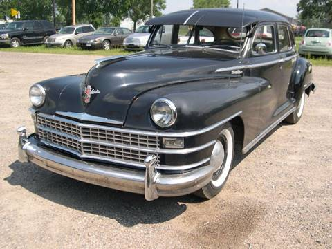 1946 Chrysler New Yorker for sale at D & T AUTO INC in Columbus MN