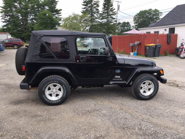 2005 Jeep Wrangler 2dr X 4WD SUV - Scarborough ME