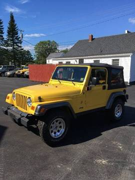 2004 Jeep Wrangler for sale in Scarborough, ME