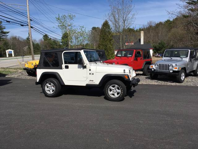 2006 Jeep Wrangler X 2dr SUV 4WD   Scarborough ME