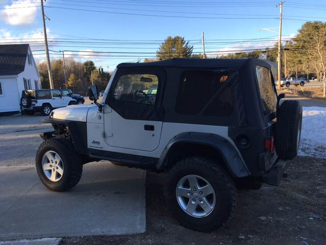 2006 Jeep Wrangler X 2dr SUV 4WD - Scarborough ME
