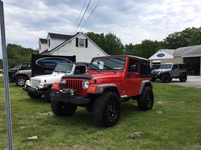 2003 Jeep Wrangler X 4WD 2dr SUV - Scarborough ME