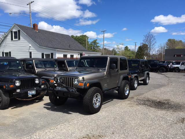 2004 Jeep Wrangler Sport 4WD 2dr SUV - Scarborough ME
