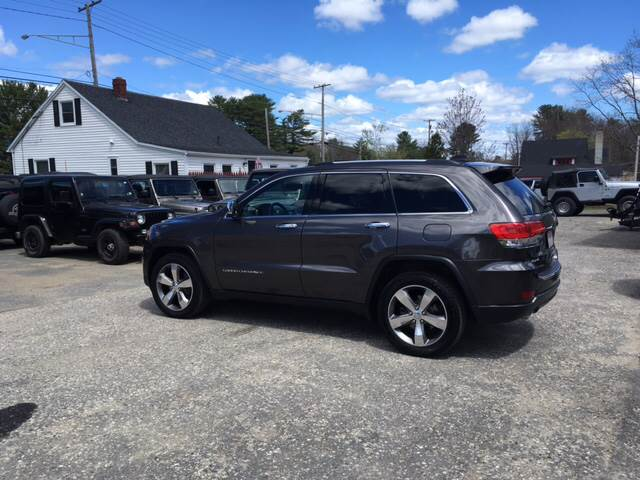2014 Jeep Grand Cherokee 4x4 Limited 4dr SUV - Scarborough ME