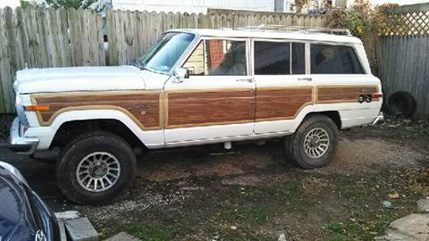 1991 Jeep Grand Wagoneer for sale at All American Imports in Arlington VA