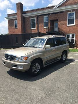 2001 Lexus LX 470 for sale in Arlington, VA