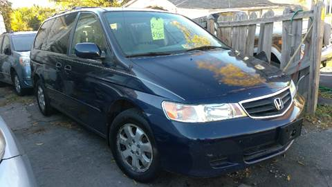 2003 Honda Odyssey for sale at All American Imports in Arlington VA