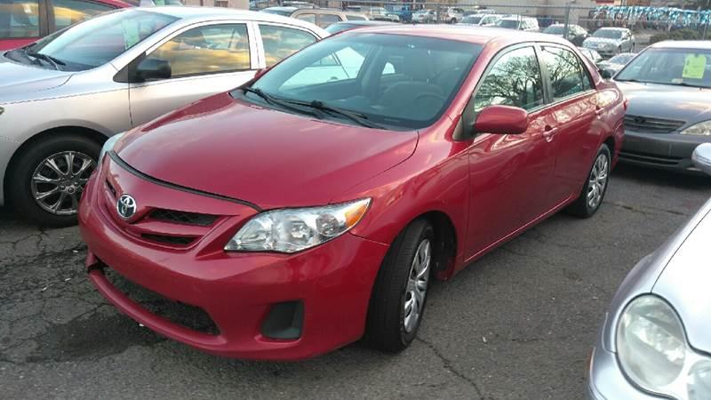 2012 Toyota Corolla for sale at All American Imports in Arlington VA