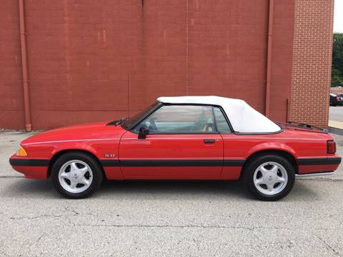 1991 Ford Mustang for sale in Elizabeth, PA