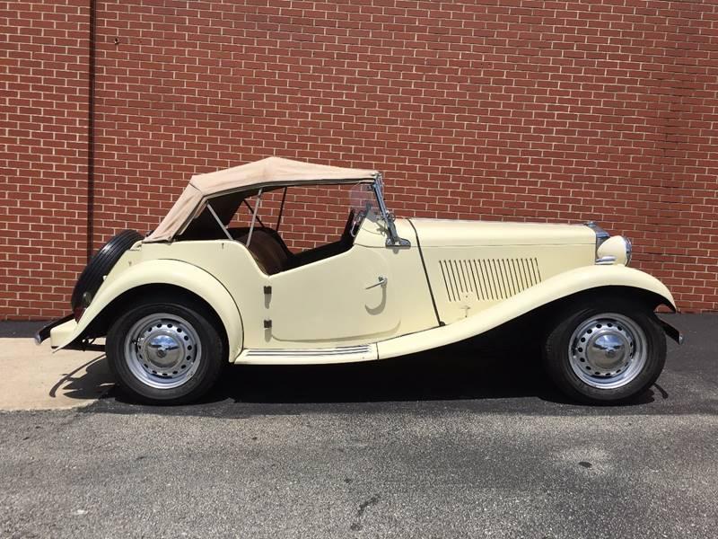 Mg Auto Sales >> 1952 Mg Td In Elizabeth Pa Elizabeth Auto Sales