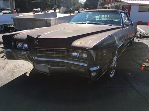 1967 Cadillac Eldorado for sale at ELIZABETH AUTO SALES in Elizabeth PA