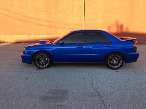 2002 Subaru Impreza for sale at ELIZABETH AUTO SALES in Elizabeth PA