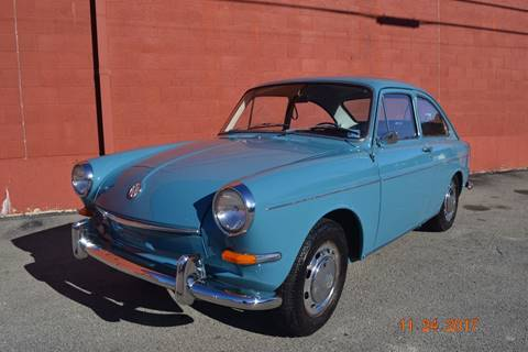 1967 Volkswagen Type-3 Fastback for sale at ELIZABETH AUTO SALES in Elizabeth PA