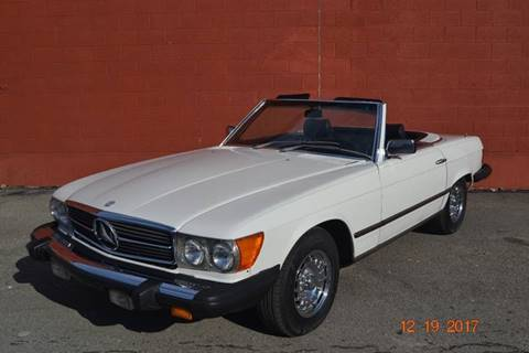 1980 Mercedes-Benz 450 SL for sale at ELIZABETH AUTO SALES in Elizabeth PA