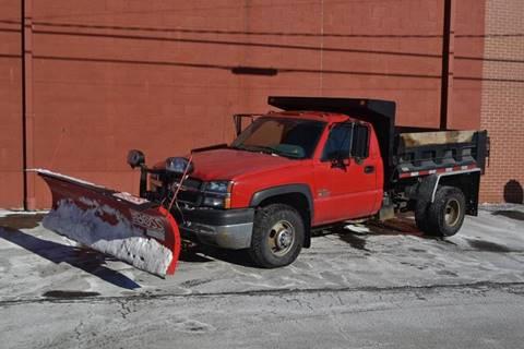 2004 Chevrolet Silverado 3500 for sale at ELIZABETH AUTO SALES in Elizabeth PA