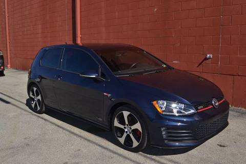 2016 Volkswagen Golf GTI for sale at ELIZABETH AUTO SALES in Elizabeth PA