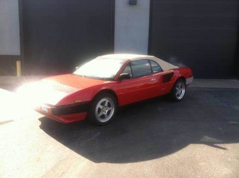 1985 Ferrari Mondial Cabriolet for sale at ELIZABETH AUTO SALES in Elizabeth PA