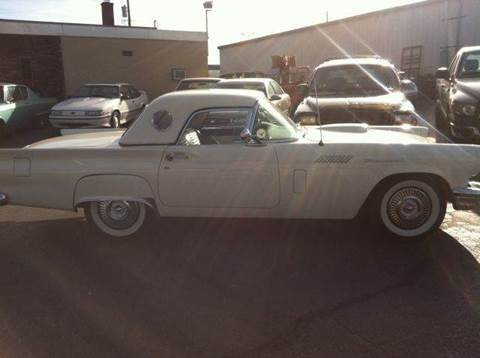 1957 Ford Thunderbird for sale at ELIZABETH AUTO SALES in Elizabeth PA