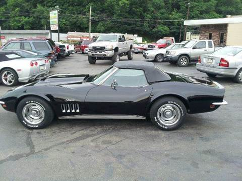 1969 Chevrolet Corvette for sale at ELIZABETH AUTO SALES in Elizabeth PA