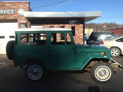 1974 Toyota Land Cruiser for sale at ELIZABETH AUTO SALES in Elizabeth PA