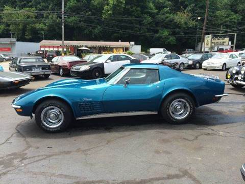 1972 Chevrolet Corvette for sale at ELIZABETH AUTO SALES in Elizabeth PA