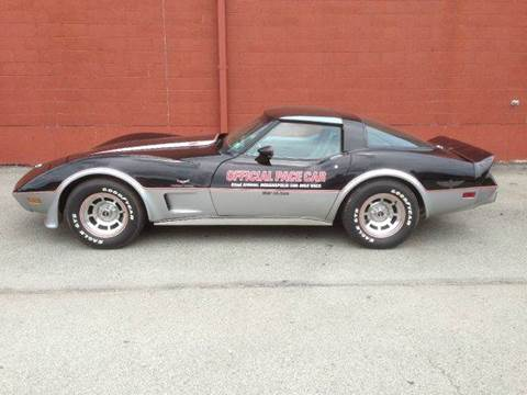 1978 Chevrolet Corvette for sale at ELIZABETH AUTO SALES in Elizabeth PA