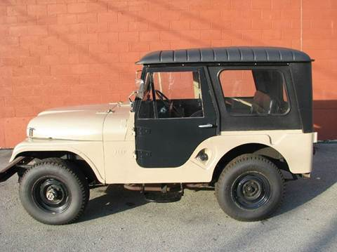 1962 Willys CJ-5 for sale at ELIZABETH AUTO SALES in Elizabeth PA