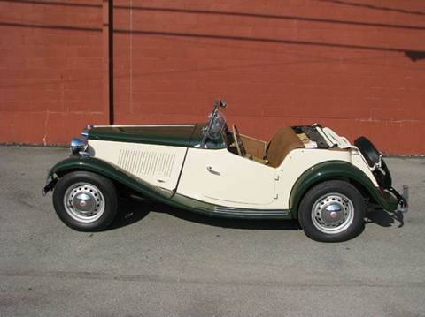 1952 MG TD for sale at ELIZABETH AUTO SALES in Elizabeth PA