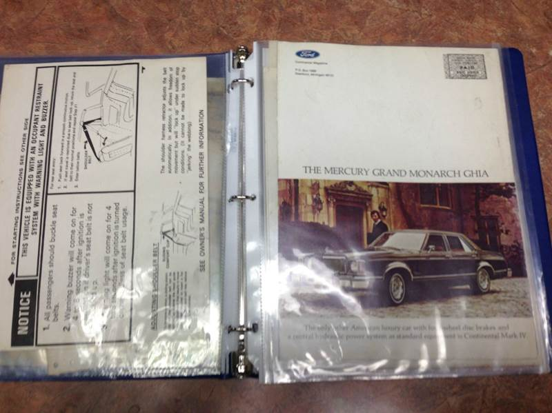 1976 Lincoln Mark Iv Bill Blass In Elizabeth PA - ELIZABETH