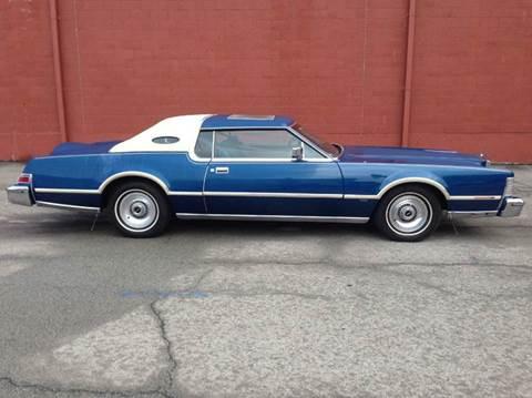 1976 Lincoln Mark IV for sale at ELIZABETH AUTO SALES in Elizabeth PA