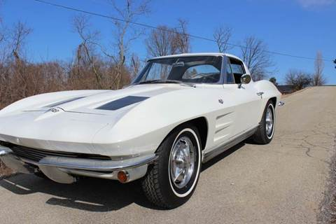 1963 Chevrolet Corvette for sale at ELIZABETH AUTO SALES in Elizabeth PA