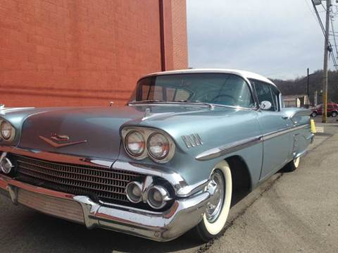 1958 Chevrolet Impala for sale at ELIZABETH AUTO SALES in Elizabeth PA