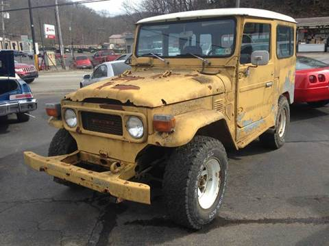 1979 Toyota Land Cruiser for sale at ELIZABETH AUTO SALES in Elizabeth PA