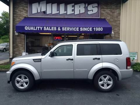 2007 Dodge Nitro for sale at Miller's Autos Sales and Service Inc. in Dillsburg PA