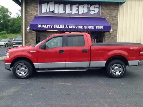 2006 Ford F-150 for sale at Miller's Autos Sales and Service Inc. in Dillsburg PA