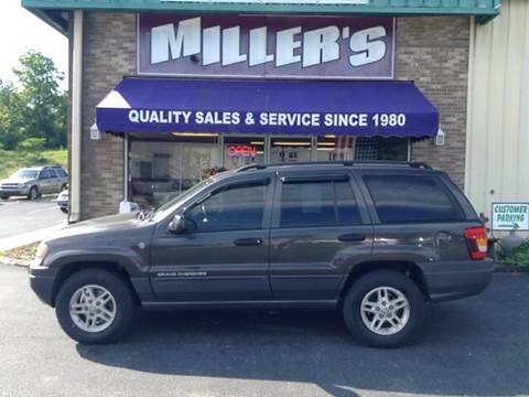2004 Jeep Grand Cherokee for sale at Miller's Autos Sales and Service Inc. in Dillsburg PA
