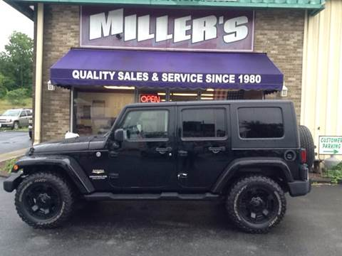 2008 Jeep Wrangler Unlimited for sale at Miller's Autos Sales and Service Inc. in Dillsburg PA