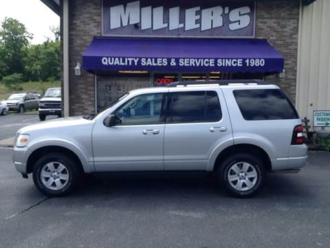 2010 Ford Explorer for sale at Miller's Autos Sales and Service Inc. in Dillsburg PA